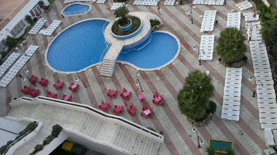 H·TOP Olympic: Pool from our room