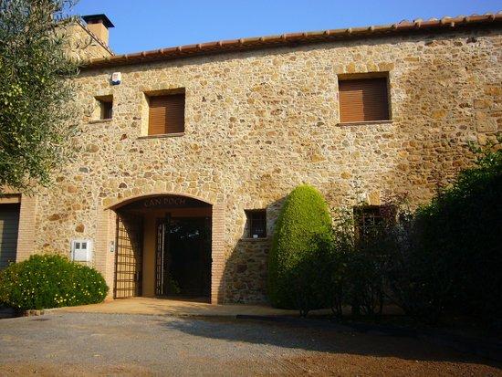 Masia Rural Can Poch: Fachada de la casa