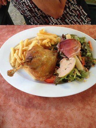 Hotel Restaurant du Trinquet : assiette gourmande (un petit en cas...)