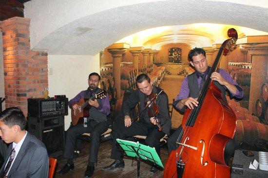 Los Toneles: String band