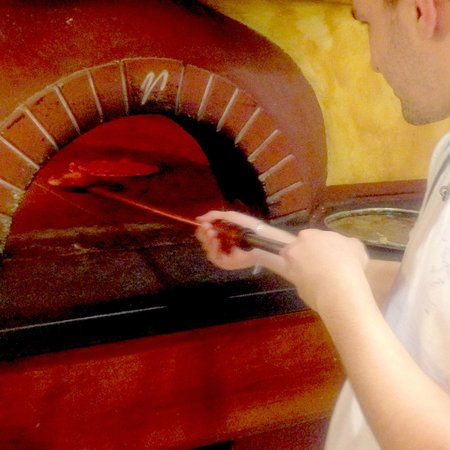 Traditional wood-oven pizza