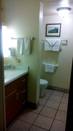 White Sands Hotel : Small toilet