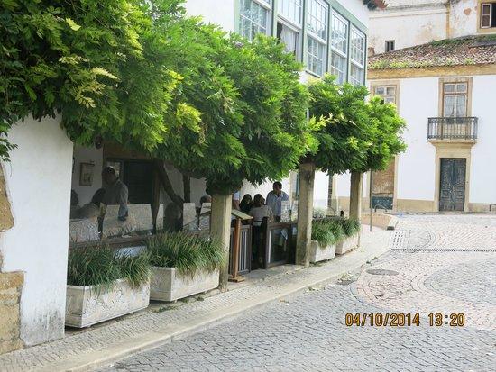 Entrance of the Restaurante Bela Vista