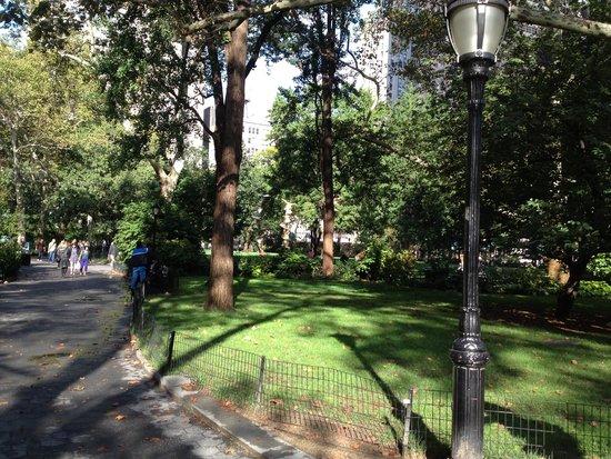 Madison Square Park - green area