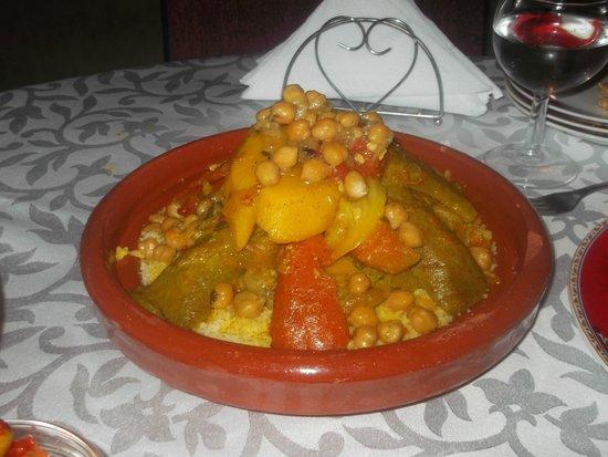 Riad Naila: super couscous