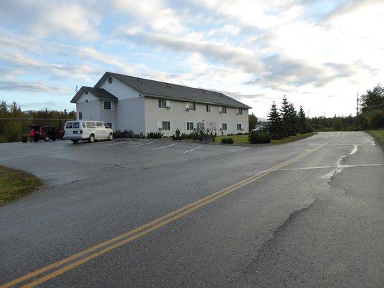 Alaska's Select Inn Hotel: Trostloses Umfeld
