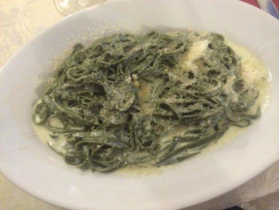 Nido d'Abruzzo: Blue Cheese Pasta
