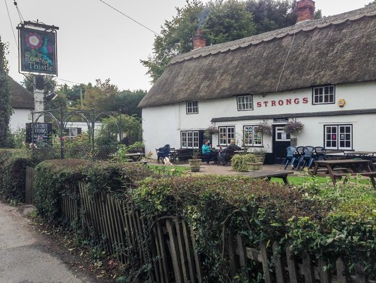 Rose and  Thistle: Rose & Thistle, Rockbourne.