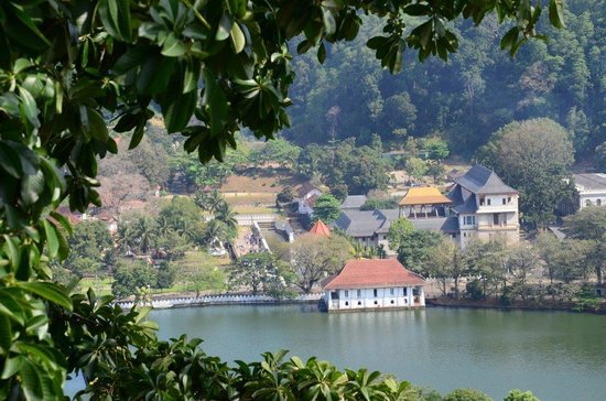 Hotel See Kandy: view