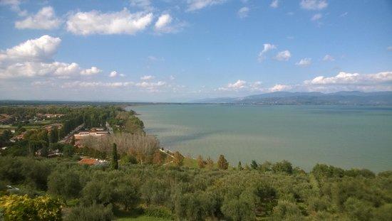 Hotel Aganoor: vista lago da camera n°4