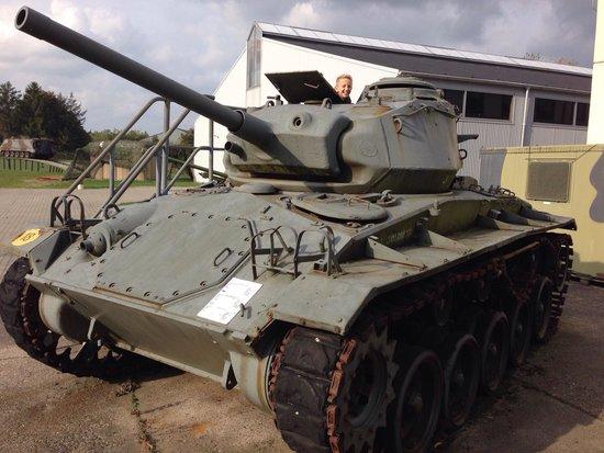 Aalborg Forsvars Og Garnisonsmuseum : M24 Chaffee
