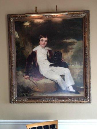 The Grand Hotel: Painting by Sir John Watson Gordon RA.