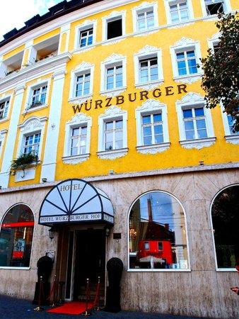 Hotel Wurzburger Hof: Gediegenes Haus