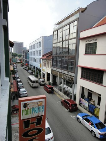 Footprints Hostel: View from Level 3