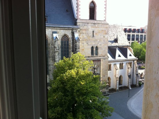 View Of The Thomas Square Picture Of Vienna Townhouse Bach Leipzig Tripadvisor