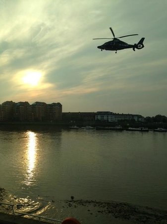 Rafayel on the Left Bank - Hotel & Spa: Another helicopter landing