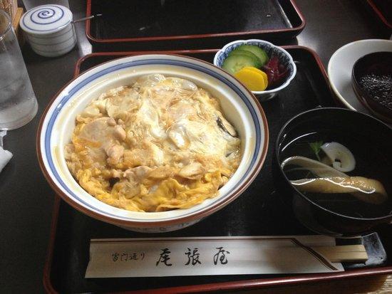 Owariya: 季節限定の松茸丼
