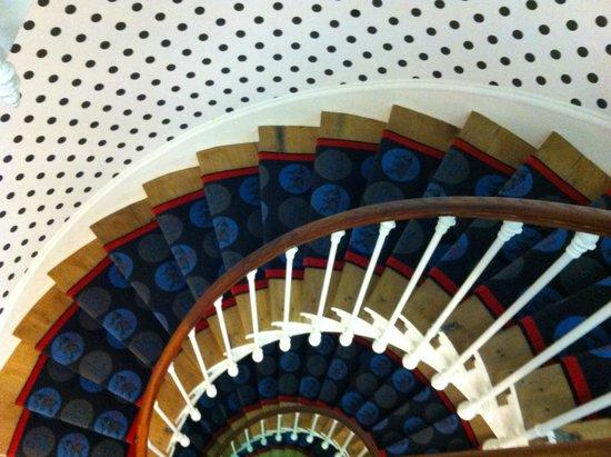 Hotel Astoria - Astotel: Tromba delle scale.....