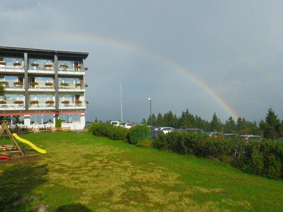 Nationalpark-Hotel Schliffkopf: de retour après l'orage...