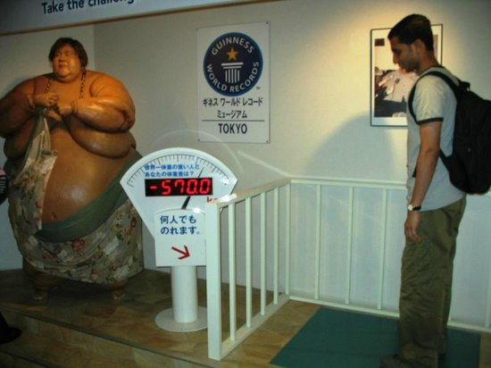 Guinness World Records Museum Tokyo