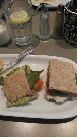 Honest To Goodness: Tasty sandwich, the picture makes it look bigger thanks it was though