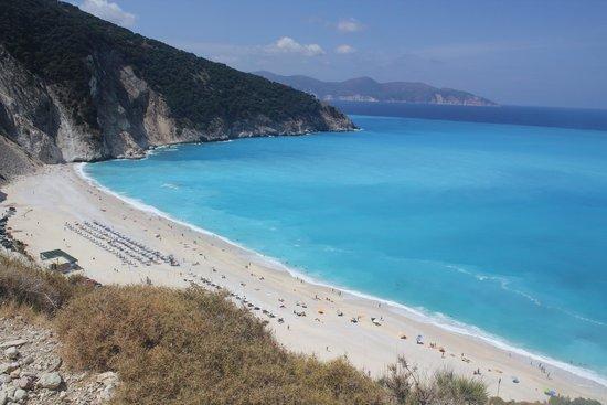 Myrtos Beach: пляж Миртос