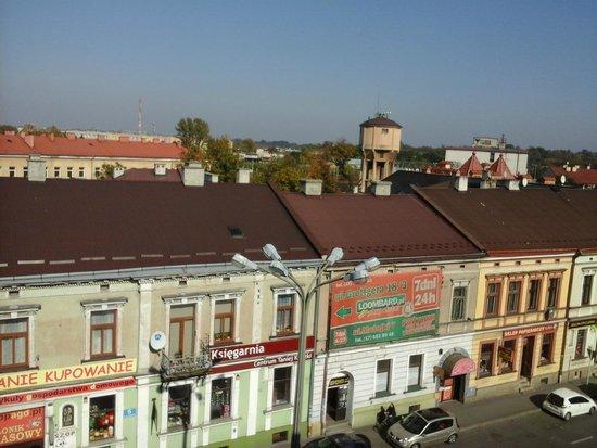 Best Western Plus Ferdynand Hotel : Best Western Plus Hotel Ferdynand Widok z Okna