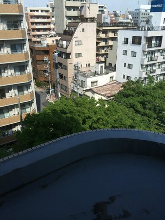 Hotel Mystays Kameido : View from 7th floor to NW.