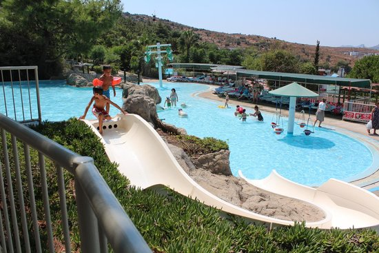 аквапарк - Picture of Aquapark Dedeman Bodrum, Ortakent ...