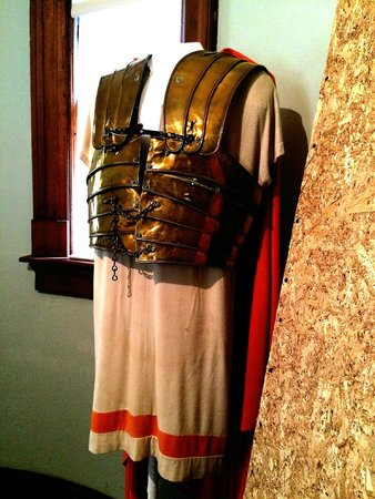 General Lew Wallace Study and Museum: Charlton Heston's Ben Hur costume