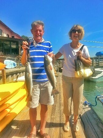 Catch-1 Charters - Capt. Shannon's Fishing Charters: Trout,Flounder and Red Drum...The Inlet Slam