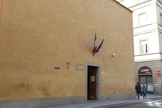 Cenacolo di Sant'Apollonia: 入口
