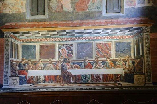 Cenacolo di Sant'Apollonia: カスターニョの最後の晩餐