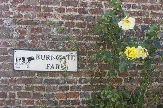 Burngate Farm: muretto