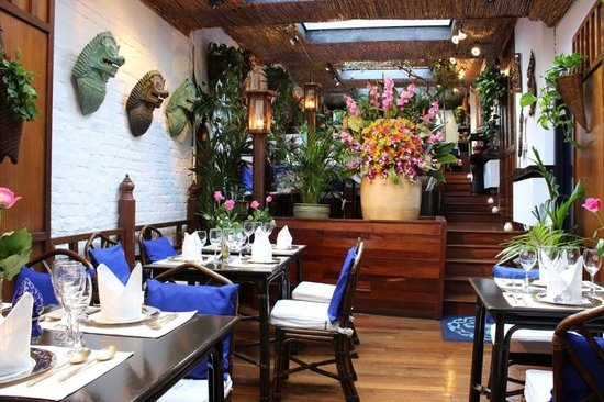 Jardin - Picture of Blue Elephant, Uccle - TripAdvisor