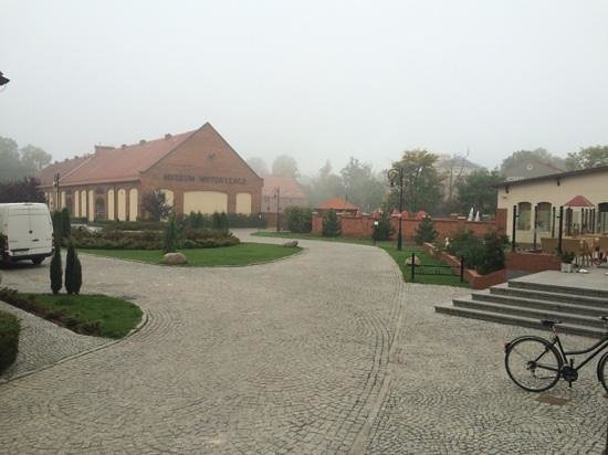 Zamek Topacz: the reception area at hotel topacz