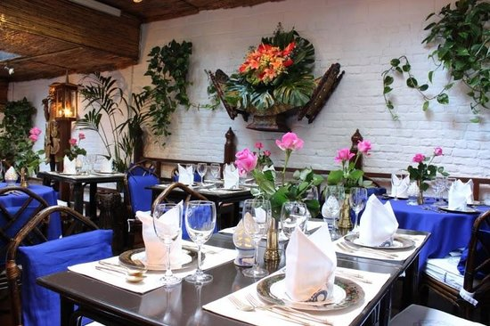 Jardin d\'hiver - Picture of Blue Elephant, Uccle - TripAdvisor