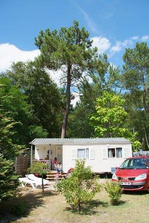 Camping Les Ourmes : Location de Mobil home