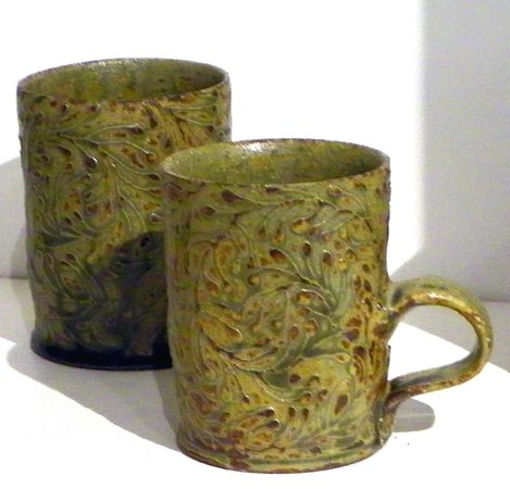 Leach Pottery: Ashley Howard and Risa Oghgi collaboration.