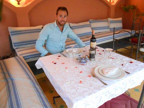 Riad Lena & SPA: Notre dîner