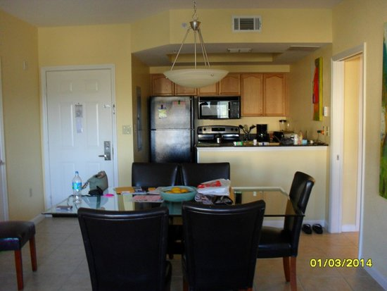 Silver Lake Resort Open Plan Dining Room And Full Kitchen Entry Door On Left