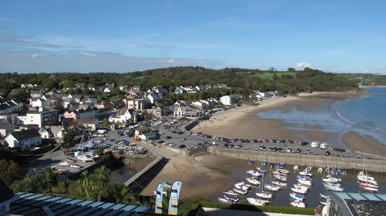 St Brides Spa Hotel : View from the balcony 2