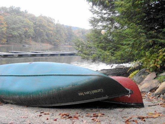 Carmel Cove Inn at Deep Creek Lake: free canoes, kayaks and paddle boats