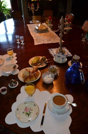 Sens Beaujeu, Francia: Breakfast at the Chateau