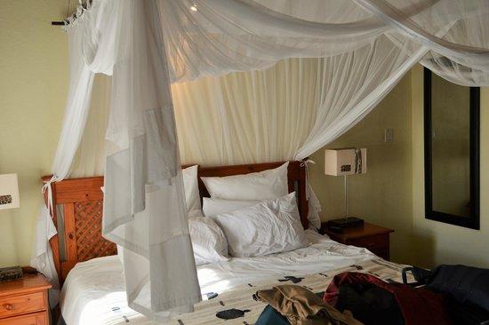 La Lechere Guest House: Tenting