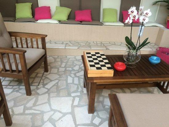 Bed and Breakfast Il Patio: La zona relax