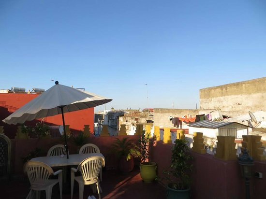Dar Yanis: View from Roof Terrace (Jasmin room was on the terrace)