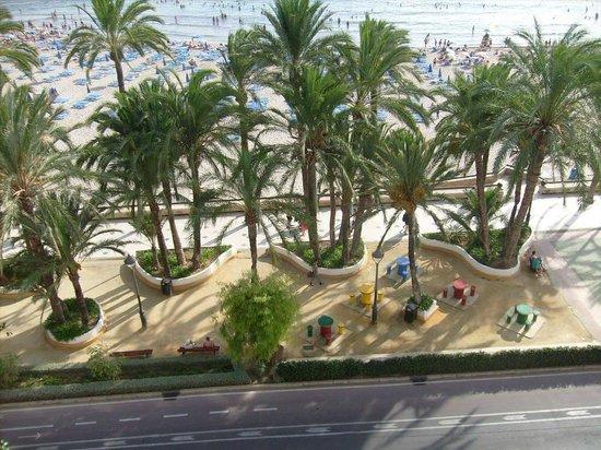 Hotel Montemar: uitzicht v/a balkon