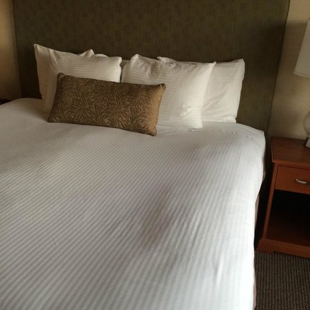 Schooner's Cove Inn: King size bed