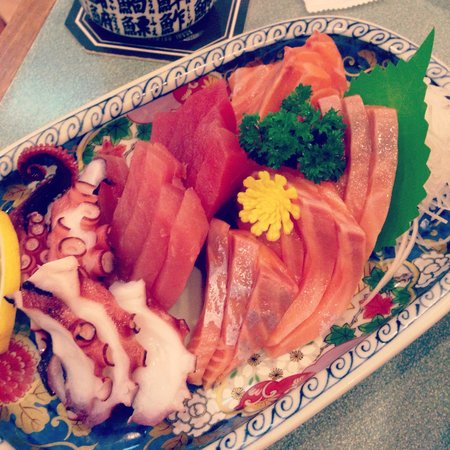 Ikoi Japanese Restaurant: Fresh sashimi